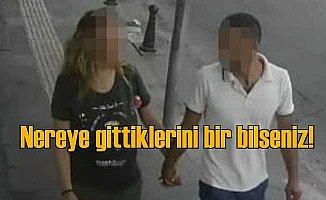 Romantik hırsızlar | Soyguna el ele tutuşarak gitmişler