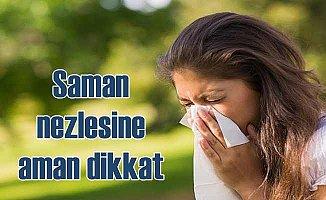 Saman nezlesi alerik rinit için şimdiden hazırlık yapın