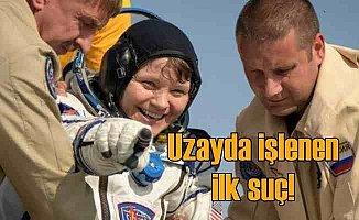 Uzay'dan eşinin banka hesabına giren astronot zor durumda