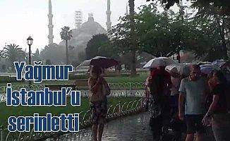 Yağmur Marmara Bölgesi'ni serinletti