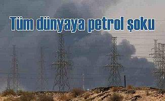 2 İHA yüzünden dünyaya petrol şoku
