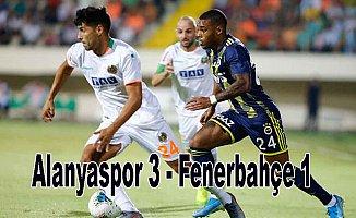 Alanyaspor, Fenerbahçe'yi farklı yendi