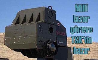 ARMOL | Türk yapımı lazer silahı TSK envanterine girdi