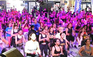 Binlerce kişi salona koştu, INT'l Sports Wellness Show başladı