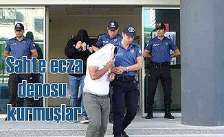 Bursa'da 'Yeşil reçete' çetesine operasyon