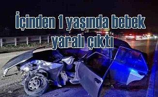 Bursa İnegöl'de feci kaza, 10 yaralı var