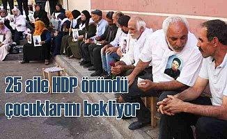 Çocukları kaçırılan ailelerin Diyarbakır eylemi büyüyor