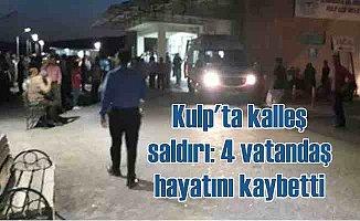Diyarbakır Kulp'ta kalleş saldırı, 7 vatandaş can verdi