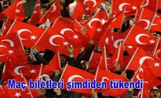 Fransa-Türkiye bilet satışları şimdiden tükendi