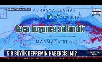 İstanbul beşik gibi sallandı, sabaha kadar 110 artçı oldu