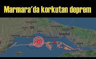İstanbul'da deprem | Silivri açıklarındaki deprem İstanbul'u salladı