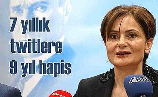 Kaftancıoğlu'na 7 yıl önce attığı mesaj için 9 yıl hapis