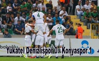 Konyaspor deplasmanda kazandı