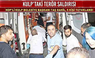 Kulp'de PKK katliamı, HDP'li belediye başkanı da tutuklandı