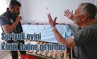 Suriyeli'nin evi muayenehane, babasının evi eczacı çıktı