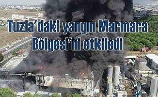 Tuzla'da fabrika yangını | Üç büyük il için kritik uyarı