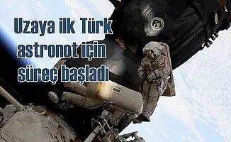 Uzaya ilk Türk astronot için geri sayım başladı