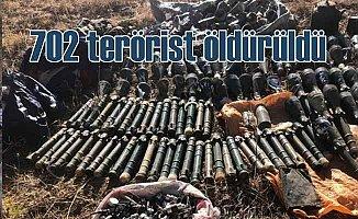 702 terörist öldürüldü, örgütte toplu firarlar ABD'yi şaşkına çevirdi