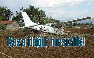 Antalya'da uçak hırsızlığı | Düşen uçağın inanılmaz hikayesi