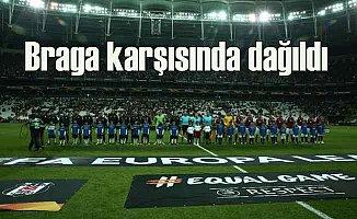 Beşiktaş, Braga karşısında 2 - 1 mağlup oldu