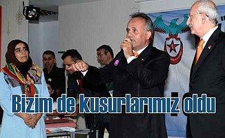 CHP Lideri Kılıçdaroğlu, 'Bizim de çok kuzurumuz var'