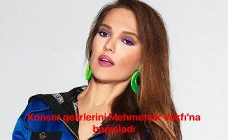 Demet Akalın da konser gelirlerini Mehmetçik Vafkı'na bağışladı