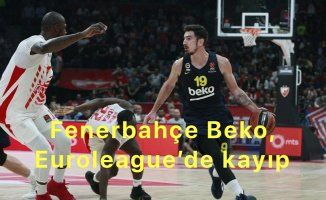 Fenerbahçe Beko Euroleague'de 2.ci maçını da kaybetti.