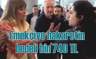Havalimanı çalışanına küfür eden kadına mahkemeden kıyak