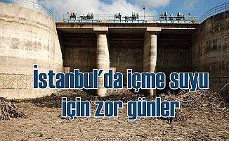 İstanbul barajlarında su seviyesi endişe verici