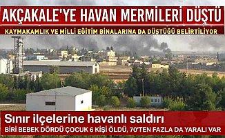PKK'nın roketli saldırılarında 6 şehit 70 yaralı var
