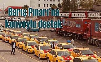 Sahiba Gökçen'de Barış Pınarı Harekatı'na destek gösterisi