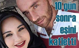 Sinem Karadeniz cinayeti | Cezaevinden çıktı, eşini karnından bıçaklayarak öldürdü