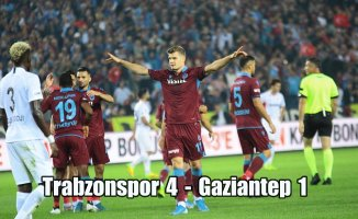 Trabzonspor zirveye oturdu