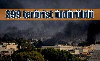 TSK terör örgütü mevzilerini vurdu, 415 PKK'lı öldürüldü