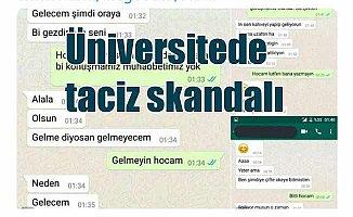Üniversitede taciz skandalına jet soruşturma