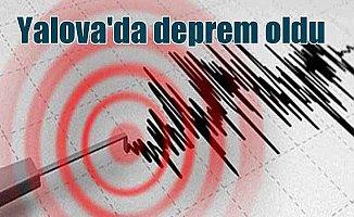 Yolava'da deprem, İstanbul'u salladı