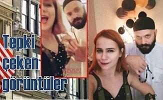 ABD Adana Konsoloslu'nda çalışanlardan tepki çeken görüntü