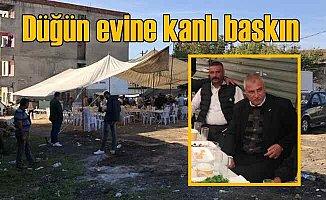 Düğüne silahlı saldırı, 3 kişi düğünevini silahla taradı