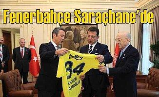 Fenerbahçe ve Basın Konseyi, İmamoğlu'nu ziyaret etti
