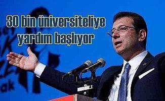 İstanbul'da üniversitelilere eğitim yardımı başlıyor