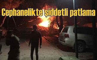 Şanlıurfa'da Zırhlı Tugay Komutanlığı'nda şiddetli patlama 17 yaralı var