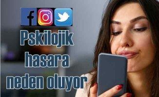 Sosyal medya yüzünden psikolojik hasara uğramayın