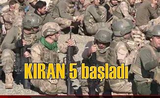 Teröristlere yönelik KIRAN-5 harekatı başladı