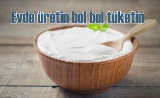 Bağışıklık sistemini güçlendirmek için bol bol yoğurt tüketin