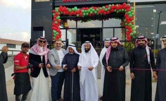 Bereket Döner Suudi Arabistan Abha'da şubesini açtı