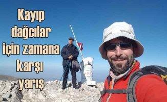 Bursa Uludağ'da kayıp dağcılar için son umut!