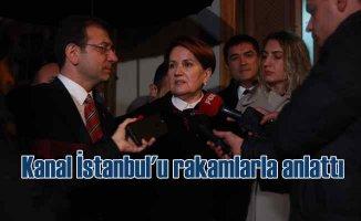 Ekrem İmamoğlu, Akşener'e Kanal İstanbul'u anlattı