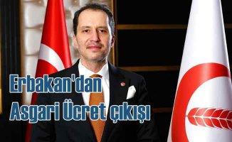 Fatih Erbakan | Asgari ücret en az 3 bin TL olmalı