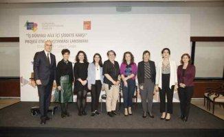 İş Dünyası Aile İçi Şiddete Karşı Projesi Etki Araştırması sonuçları paylaşıldı