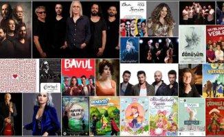 İstanbul'da sanatseverlere müjde 17 Konser, 35 Tiyatro Oyunu ücretsiz